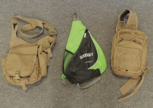 Some of the sling packs and shoulder bag I have used in the past.